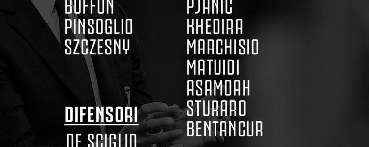 尤文对阵亚特兰大大名单:马尔基西奥伤愈归队