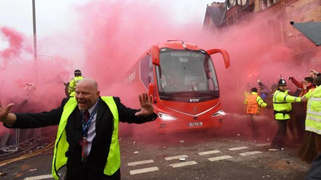 电讯报:利物浦决定欧冠1/4决赛次回合当天赴曼市