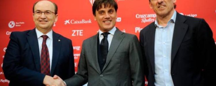 官方:塞维利亚宣布蒙特拉暂时留任,总监阿里亚斯下课