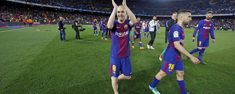 西甲综述:巴塞罗那夺冠,梅西获得欧洲金靴奖