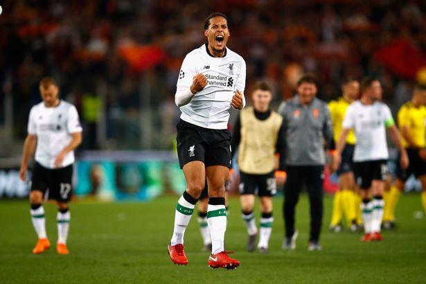 范戴克:来到利物浦不久就能踢欧冠决赛,这有点像个笑话
