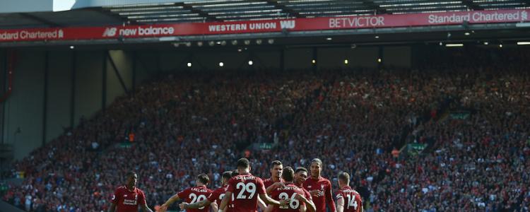 安菲尔德!利物浦成英格兰唯一一支联赛主场不败球队