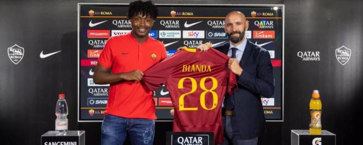 官方:罗马俱乐部宣布签下小将比安达