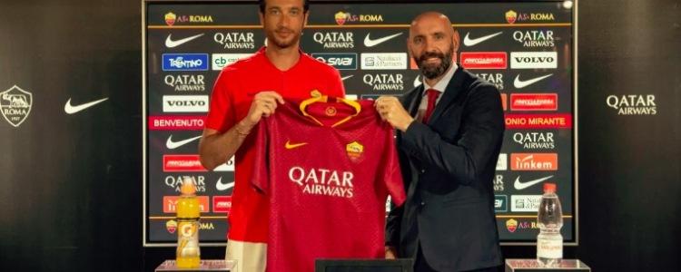 官方:罗马400万欧元签下博洛尼亚门将米兰特