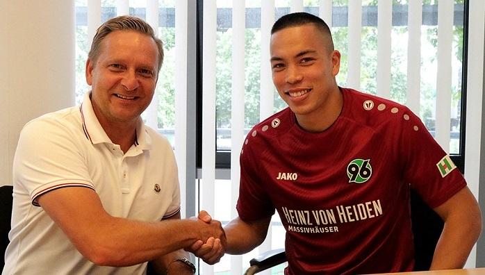 官方:汉堡前锋伍德租借加盟汉诺威