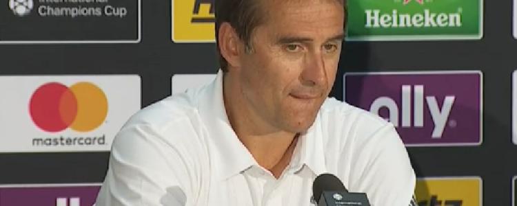洛佩特吉:莫德里奇会继续效力皇马,他将在下周三归队
