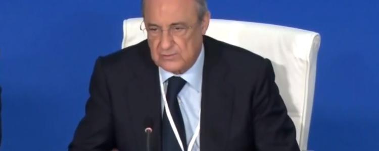 弗洛伦蒂诺回应会员质询:绝不去美国踢联赛,不符合皇马利益