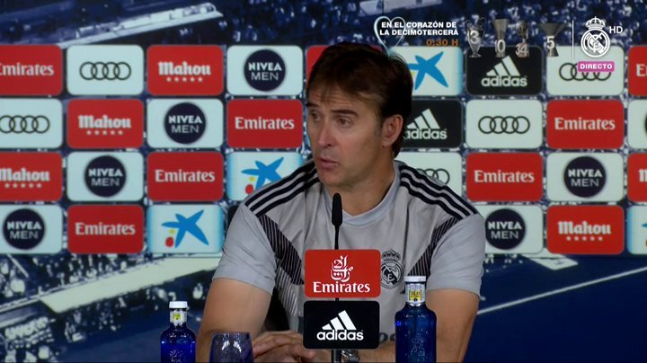 洛佩特吉:在皇马不管你是不是西班牙人,都是皇马人
