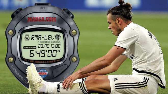 皇马已经409分钟不进球,距离队史纪录还剩87分钟