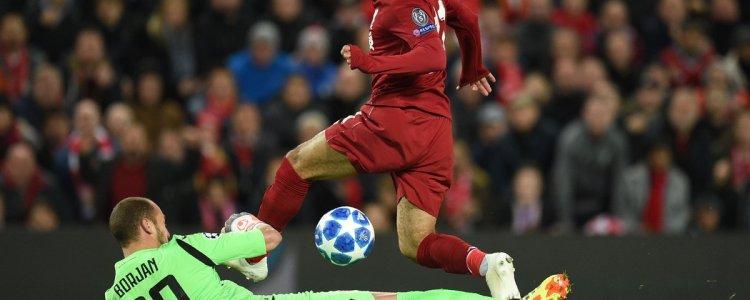 萨拉赫:很高兴能打进在利物浦的第50球