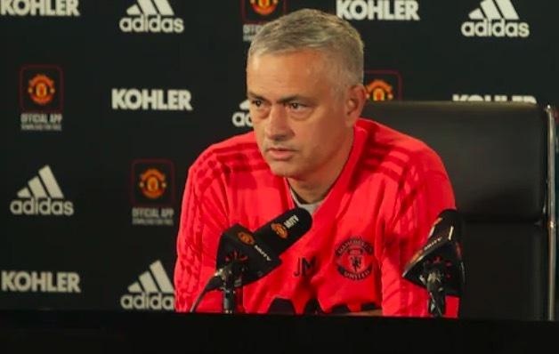 穆帅:曼联能比现在好得多;有时事情不仅仅在教练手里