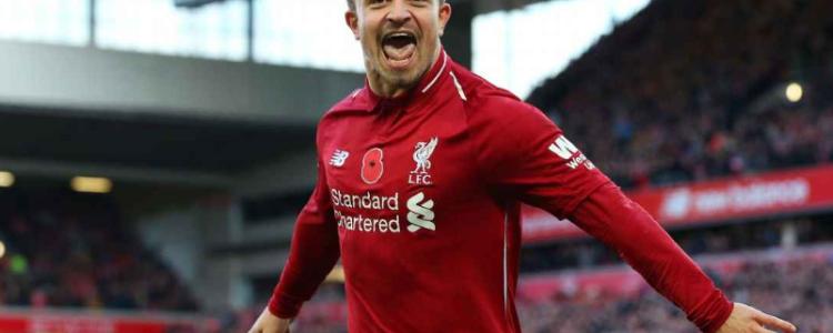 前巴塞尔教练:沙奇里能够成为利物浦最佳