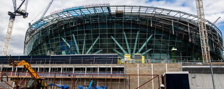 泰晤士报:热刺可能明年3月才能使用新球场