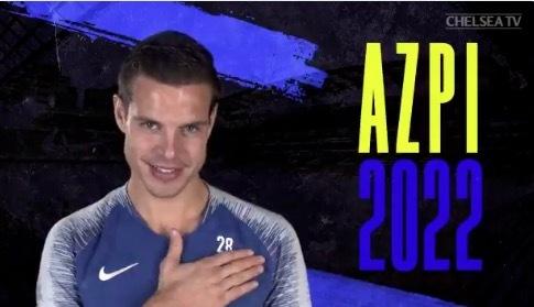 官方:切尔西与阿兹皮利奎塔续约至2022年