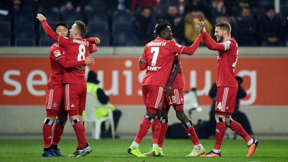 北大王回归在即?汉堡锁定德乙联赛半程冠军