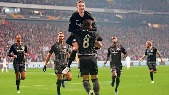 力争欧联杯六连胜,法兰克福有望成德甲第一队