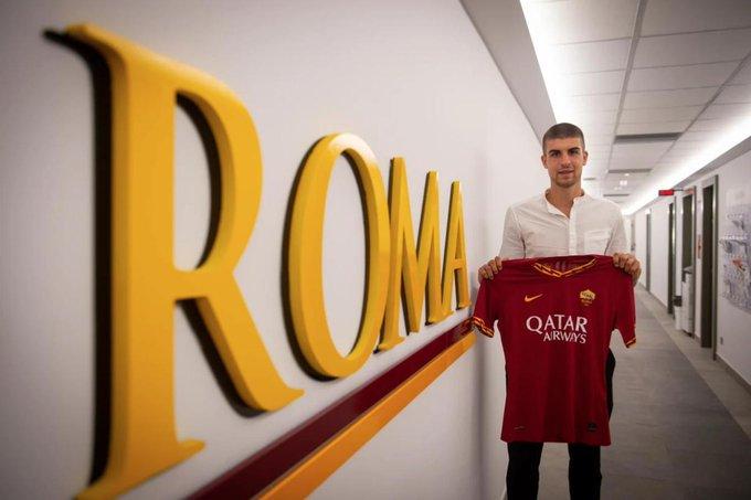 官方:罗马签下亚特兰大后卫G-曼奇尼