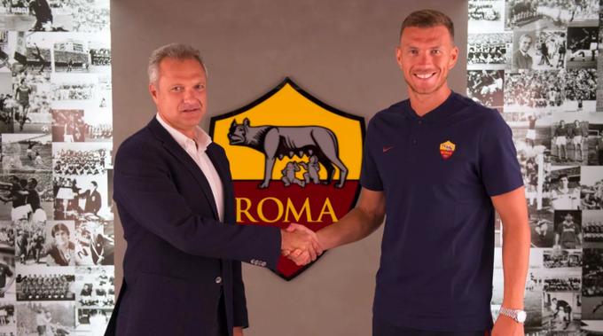 官方:罗马与哲科续约,新合同签至2022年夏天