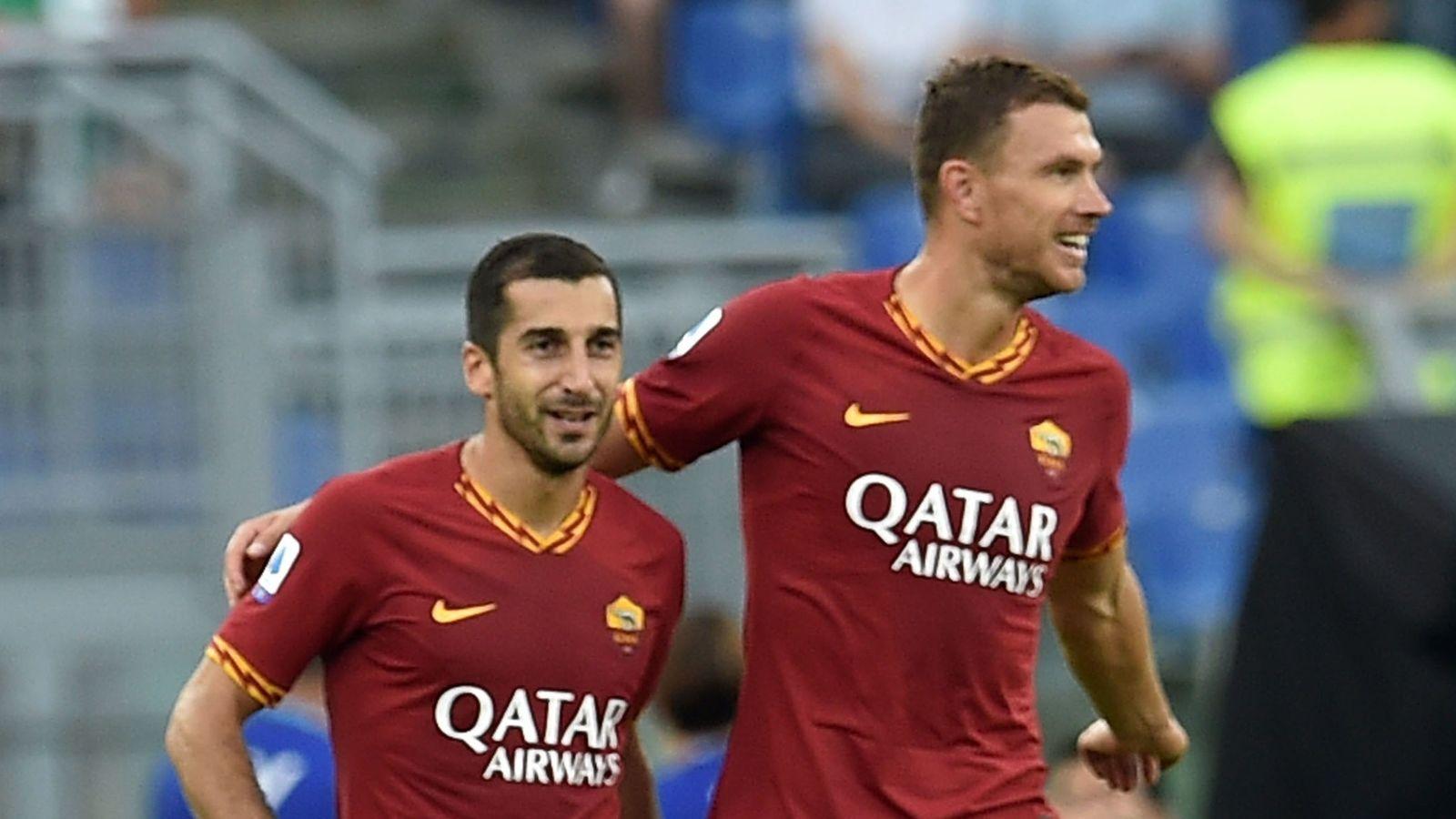 哲科:姆希塔良将成为罗马重要球员,希望他能长留