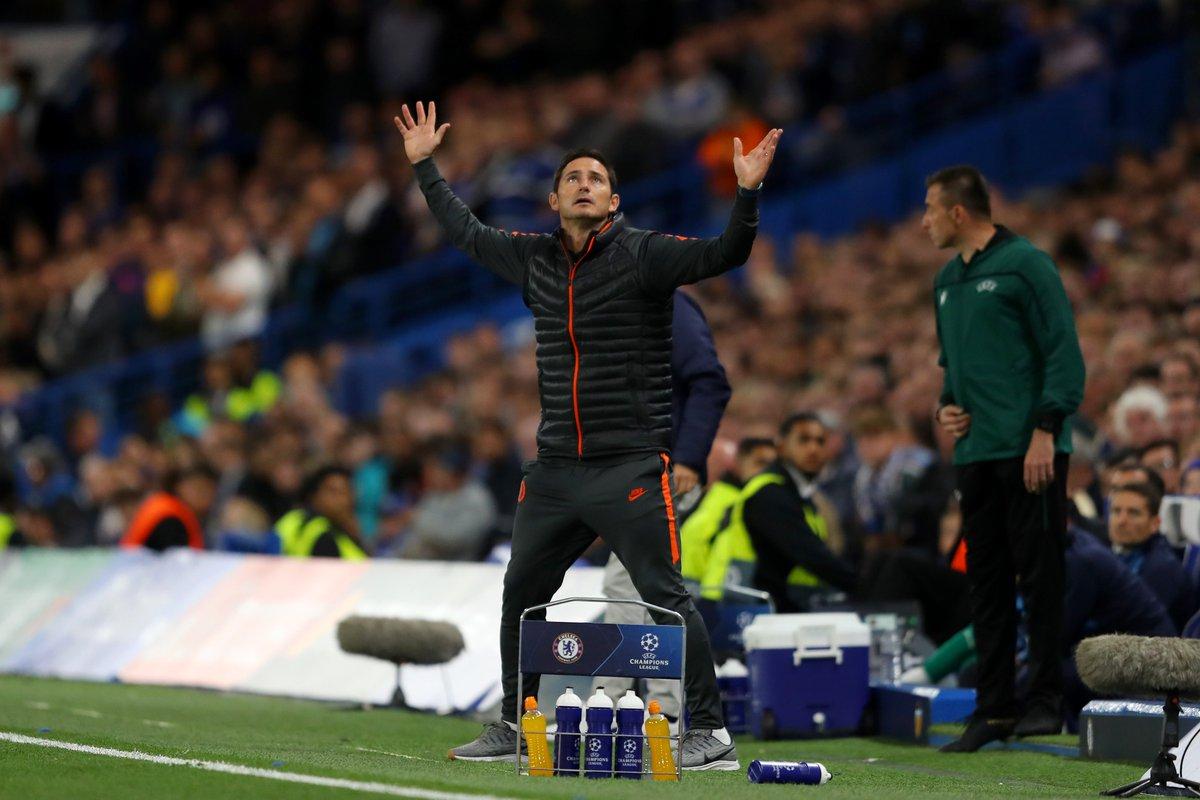 出师不利,兰帕德成切尔西第一位欧冠首秀却输球的教练