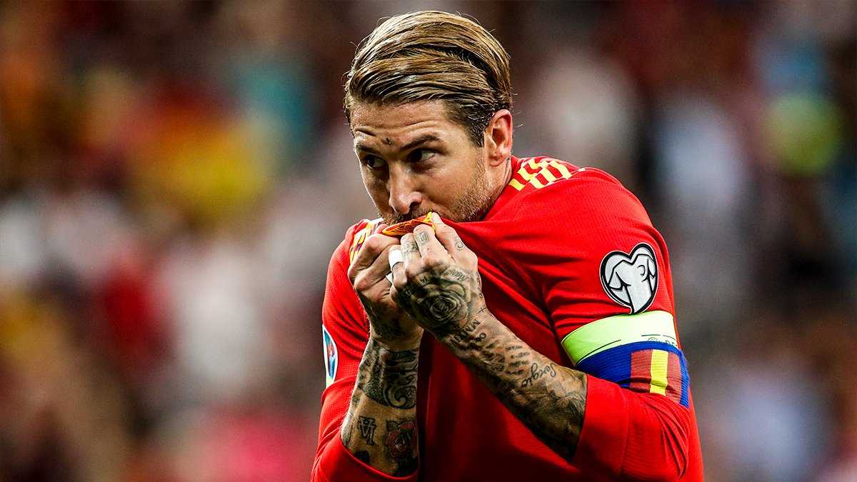 皇马官推祝贺拉莫斯:恭喜队长成为西班牙出场次数第一人