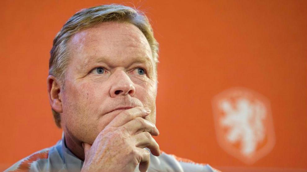 科曼:存在加入巴萨的可能;作为荷兰主帅谈论此事有些奇怪
