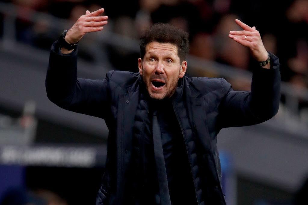 自西蒙尼执教球队以来,马竞欧冠38次零封排名全欧第一