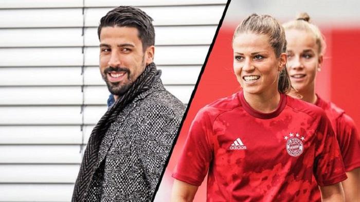 德媒:赫迪拉和拜仁慕尼黑女足隊長戀愛