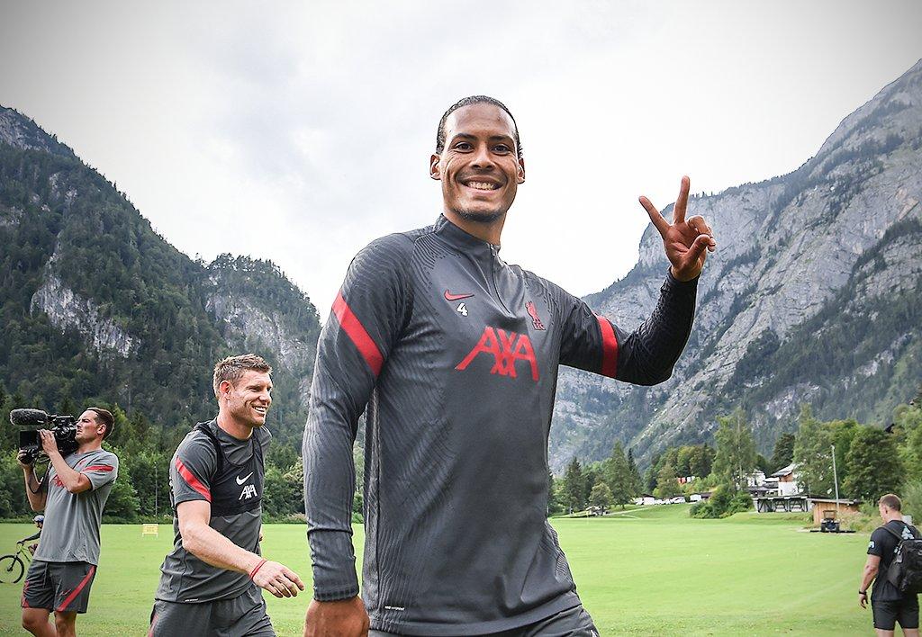 美如画!利物浦在奥地利进行季前集训,卡里乌斯回归