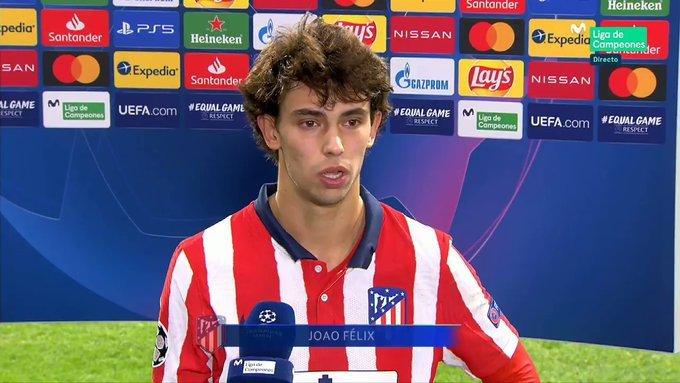 费利克斯:我最喜欢踢欧冠,马竞这么踢下去能行