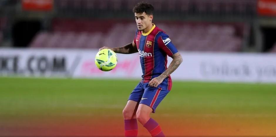 官方:巴塞罗那俱乐部证实库蒂尼奥将返回巴西接受治疗
