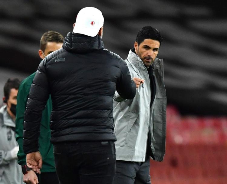 基翁:阿森纳球员需要有人给他们一耳光才能进入状态