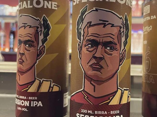 """疯狂造势,罗马当地酒商堆出""""特殊的一个""""牌啤酒"""