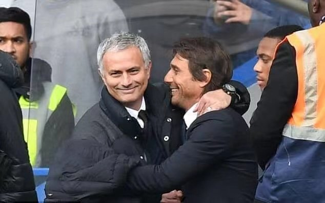 孔蒂:我与穆里尼奥之间只有尊重,祝他在罗马一切顺利