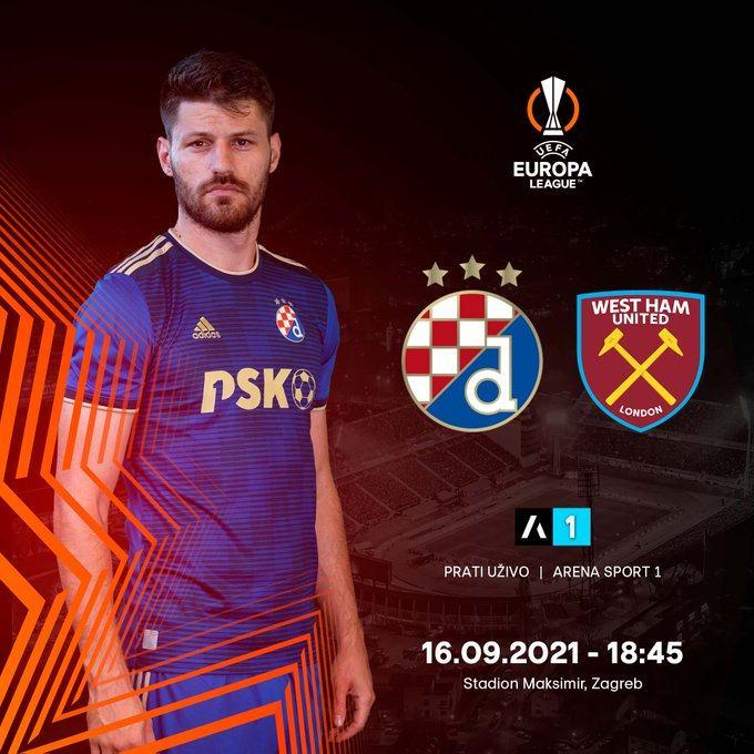 欧联杯前瞻:萨格勒布迪纳摩VS西汉姆联