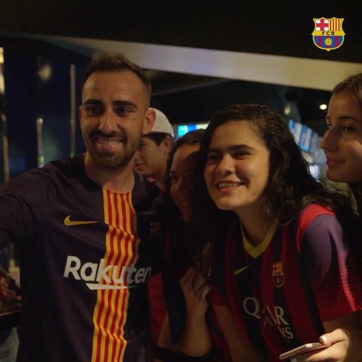 """""""巴塞罗那""""2018月8月1日视频"""
