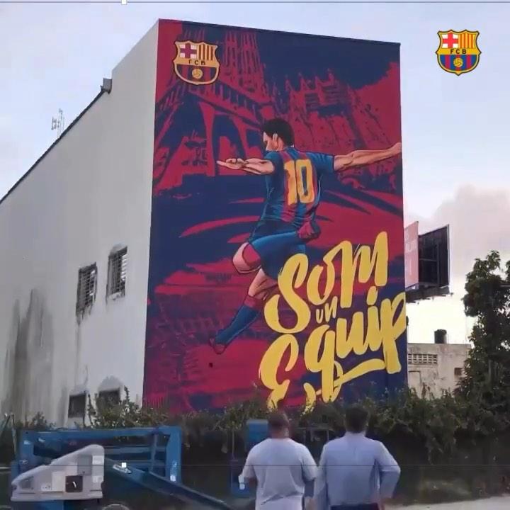"""""""巴塞罗那""""2019月9月19日视频"""
