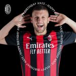 An extra special day for Ante, matchday and birthday in one! Hope it's great! ??  #SempreMilan