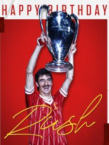 Happy birthday to this legend! 🥳 Have a great day, @ian_rush9 ❤️ #LFC #LiverpoolFC #Liverpool