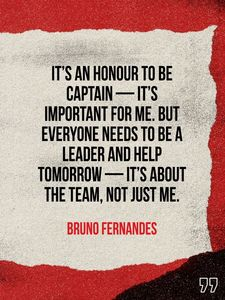 💬 #BrunoFernandes explains what wearing the captain's armband will mean to him ❤️ #MUFC #ChampionsLeague