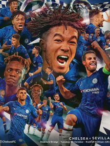 Champions League football is back at the Bridge! Chelsea v Sevilla. COME ON YOU BLUES! 🔵⚽️ #CHESEV #UCL #CFC #Chelsea