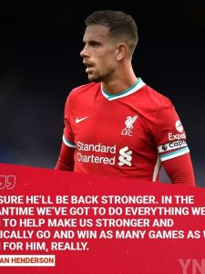 @jhenderson wants us to use @virgilvandijk's absence as an added incentive as we set about achieving our objectives without the centre-back 🔴 #LFC #LiverpoolFC #Liverpool