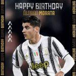 ¡Feliz cumpleaños, Alvaro! 🎂⚪️⚫️♥️