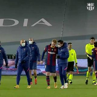 """""""巴塞罗那""""2021年1月15日视频"""