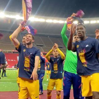 """""""巴塞罗那""""2021年4月18日视频"""