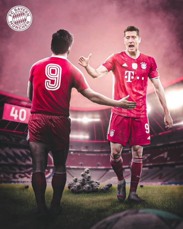 """""""拜仁慕尼黑""""图片-2021年5月16日"""