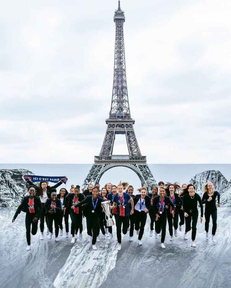 """""""巴黎圣日耳曼""""图片-2021年6月8日"""