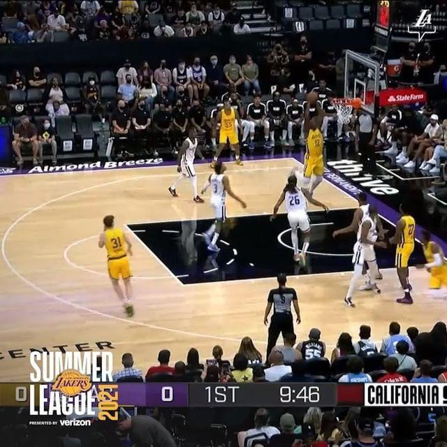 """""""洛杉矶湖人""""视频-2021年8月5日"""