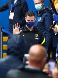 Checking-in! 👋 @CesarAzpi #CHESOU #CFC #Chelsea