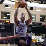 Energy going ??  #LakersCamp x @hyperice